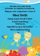 Under the Sea Asian Baby Twins Snorkeling - Baby Shower Invitations thumbnail