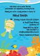 Under the Sea Asian Baby Snorkeling - Baby Shower Invitations thumbnail