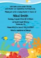Under the Sea Baby Twin Girls Snorkeling - Baby Shower Invitations thumbnail