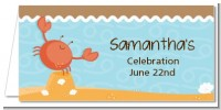 Crab | Cancer Horoscope - Personalized Baby Shower Place Cards