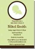 Crawling Baby Neutral - Baby Shower Invitations