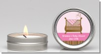 Crib Pink - Baby Shower Candle Favors
