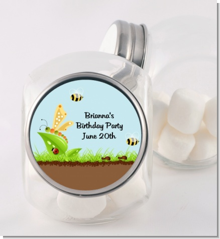 Critters Bugs & Insects - Personalized Baby Shower Candy Jar