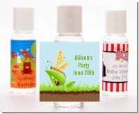 Critters Bugs & Insects - Personalized Baby Shower Hand Sanitizers Favors