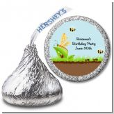 Critters Bugs & Insects - Hershey Kiss Birthday Party Sticker Labels