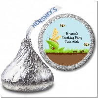 Critters Bugs & Insects - Hershey Kiss Baby Shower Sticker Labels
