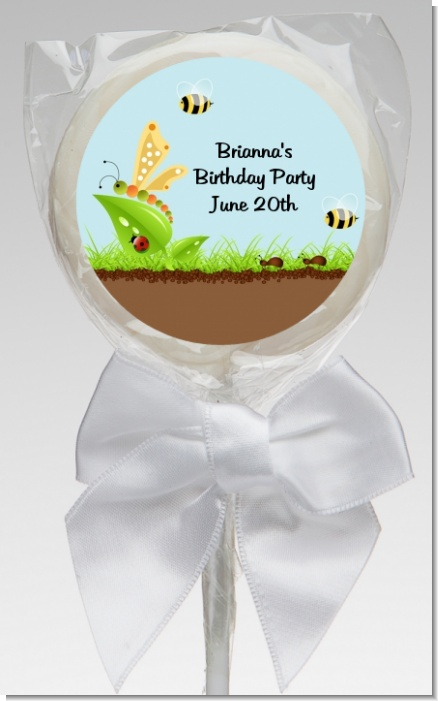 Critters Bugs & Insects - Personalized Birthday Party Lollipop Favors