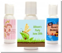 Critters Bugs & Insects - Personalized Baby Shower Lotion Favors