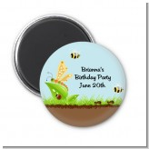 Critters Bugs & Insects - Personalized Baby Shower Magnet Favors
