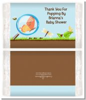 Critters Bugs & Insects - Personalized Popcorn Wrapper Baby Shower Favors