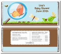 Critters Bugs & Insects - Personalized Baby Shower Candy Bar Wrappers