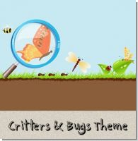 Critters Bugs and Insects Birthday Party Theme