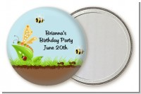 Critters Bugs & Insects - Personalized Birthday Party Pocket Mirror Favors
