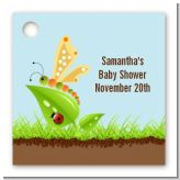 Critters Bugs & Insects - Personalized Baby Shower Card Stock Favor Tags
