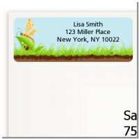 Critters Bugs & Insects - Baby Shower Return Address Labels