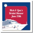 Cruise Ship - Personalized Bridal Shower Card Stock Favor Tags thumbnail
