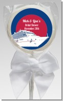 Cruise Ship - Personalized Bridal Shower Lollipop Favors
