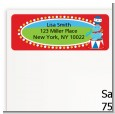 Circus Seal - Birthday Party Return Address Labels thumbnail
