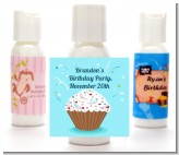 Cupcake Boy - Personalized Birthday Party Lotion Favors