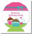 Cupcake Trio - Personalized Birthday Party Centerpiece Stand thumbnail