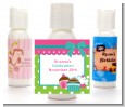 Cupcake Trio - Personalized Birthday Party Lotion Favors thumbnail