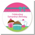 Cupcake Trio - Personalized Birthday Party Table Confetti thumbnail