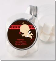 Cupid Baby Valentine's Day - Personalized Baby Shower Candy Jar
