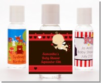 Cupid Baby Valentine's Day - Personalized Baby Shower Hand Sanitizers Favors