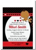 Cupid Baby Valentine's Day - Baby Shower Petite Invitations