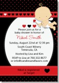Cupid Baby Valentine's Day - Baby Shower Invitations
