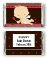 Cupid Baby Valentine's Day - Personalized Baby Shower Mini Candy Bar Wrappers thumbnail