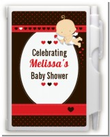 Cupid Baby Valentine's Day - Baby Shower Personalized Notebook Favor