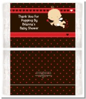 Cupid Baby Valentine's Day - Personalized Popcorn Wrapper Baby Shower Favors