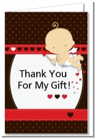 Cupid Baby Valentine's Day - Baby Shower Thank You Cards