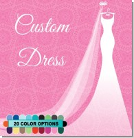 Custom Wedding Dress Bridal Theme