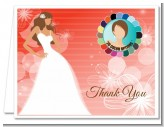 Custom Bride - Bridal | Wedding Thank You Cards
