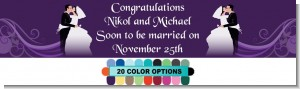 Custom Wedding Couple - Personalized Bridal Shower Banners