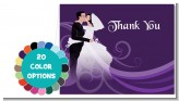 Custom Wedding Couple - Bridal Shower Thank You Cards