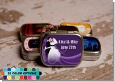 Custom Wedding Couple - Personalized Bridal Shower Mint Tins