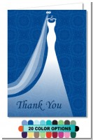 Custom Wedding Dress - Bridal | Wedding Thank You Cards