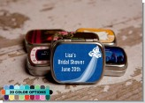 Custom Wedding Dress - Personalized Bridal Shower Mint Tins