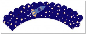 Space Shuttle - Birthday Party Cupcake Wrappers