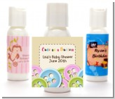 Cute As a Button - Personalized Baby Shower Lotion Favors