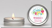 Cute As Buttons - Baby Shower Candle Favors