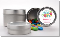 Cute As Buttons - Custom Baby Shower Favor Tins