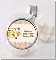 Cute As Can Bee - Personalized Baby Shower Candy Jar
