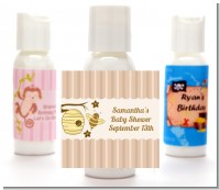 Cute As Can Bee - Personalized Baby Shower Lotion Favors