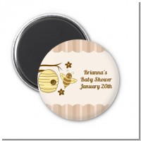 Cute As Can Bee - Personalized Baby Shower Magnet Favors