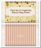Cute As Can Bee - Personalized Popcorn Wrapper Baby Shower Favors