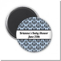 Damask - Personalized Baby Shower Magnet Favors